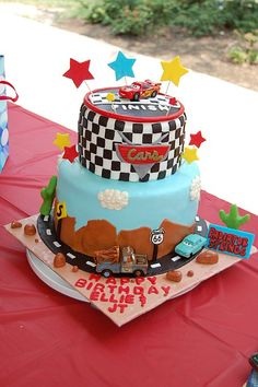 Cars Cake. Cakes by Casan
