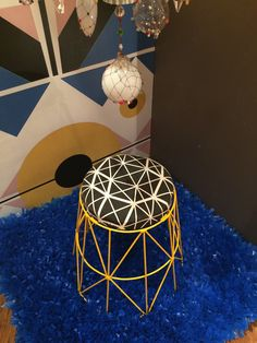 """Renée Rossouw's """"Favourite Dot Yellow"""" adds a contemporary feel to any space, as was seen at Make It New"""
