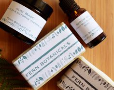 Browse unique items from Fernbotanicals on Etsy, a global marketplace of handmade, vintage and creative goods. Clay Masks, Fern, Natural Skin, Whiskey Bottle, Unique Jewelry, Handmade Gifts, Creative, Etsy, Vintage
