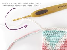 Learn how to make this CUBE Crochet Toiletry Bag usin the Tapestry Technique. FREE Step by Step Tutorial & Pattern. Designed to turn heads! Crochet Pouch, Crochet Chain, Crochet Purses, Crochet Hooks, Tapestry Crochet Patterns, Crochet Fabric, Knitting Daily, Granny Square Bag, Crochet Bag Tutorials