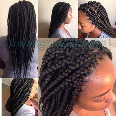 Jumbo jumbo box braids