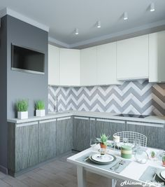 Kitchen Decor, Kitchen Design, Diy Home Crafts, Kitchen Organization, Kitchen Cabinets, Sims, Table, Furniture, Home Decor