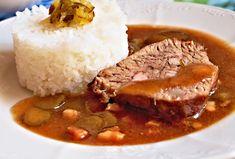 Recept : Hovězí závitky plněné anglickou slaninou a modrým sýrem   ReceptyOnLine.cz - kuchařka, recepty a inspirace Pork, Beef, Tapas, Recipies, Kale Stir Fry, Meat, Pork Chops, Steak