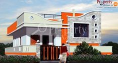 looking to buy residential independent house in hyderabad? sanvi homes in hayath nagar is the best residential independent house to buy in hyderabad. House Outer Design, House Front Wall Design, Single Floor House Design, House Outside Design, Village House Design, Duplex House Design, Kerala House Design, Small House Design, Independent House