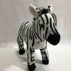 Zalika Zebra 8 Inch Andy B Blaine 2017 Plush Pals Tags  #AndyBBlaine Shark Plush, Rudolph Red Nosed Reindeer, Baby Ducks, Grey Elephant, Disney Junior, Jungle Animals, Plush Dolls, Panda Bear, Pet Toys