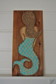 Turquoise Mermaid | M Street Artwork