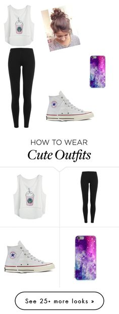 """""""Outfits I would wear all the time"""" by elisemisner-1 on Polyvore featuring Polo Ralph Lauren and Converse"""