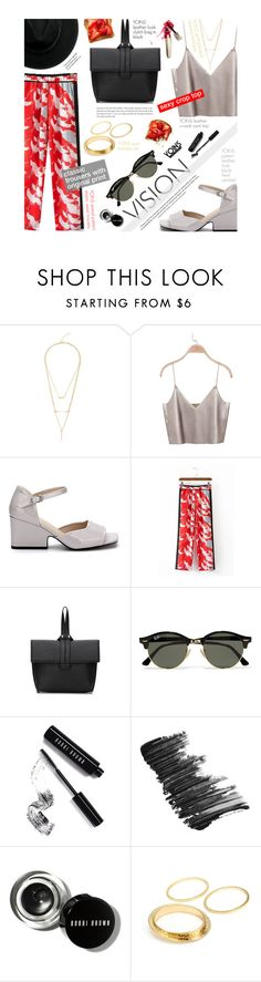 """""""YOINS 1/10/3 - Vision"""" by federica-m ❤ liked on Polyvore featuring Ray-Ban, Bobbi Brown Cosmetics, Butter London, yoins, yoinscollection and loveyoins"""