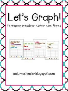 Here's a set of 14 different data collection assessments aligned to the Common Core standards. Can be used in K and 1.