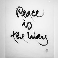 Experience our exhibition of #calligraphy by Zen Master #ThichNhatHanh in #DeepakHomebase on the Mezz in #NYC & online
