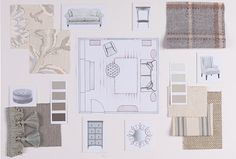 'Classic look' mood board by Cathy Boyd, Interior Design Consultant at Bristol #WesleyBarrell