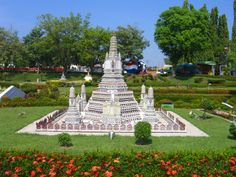 Thai styled temple monument