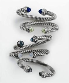 The David Yurman style has always been defined by layered metals, textures and colors.