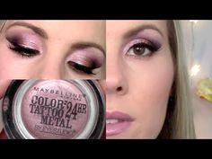 Eyeshadow Tutorial | Inked in Pink Maybelline Color Tattoo