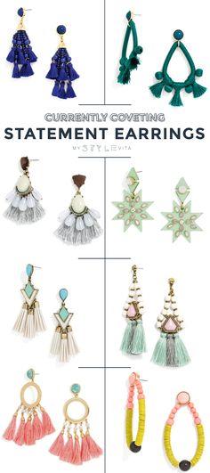 best statement earrings for summer - @mystylevita