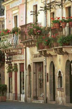 Old town Taormina, Sicily