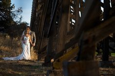Kimberly Kay catching that beautiful moment by the Trestle Bridge at Brasada Ranch Cascade Mountains, Local Photographers, Central Oregon, Beautiful Moments, Ranch, Scenery, Wedding Photography, In This Moment, Bridge