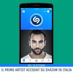 """Dalla App Marco Mengoni - Updates:  >> Shazam sceglie Marco Mengoni per il primo artist account in Italia - Dal 16 ottobre con il nuovo singolo """"Ti ho voluto bene veramente""""<<"""