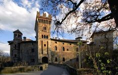 Marne Castle, Filago. Built in the 14th century by the Avogadri family  --  province of Bergamo