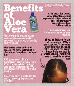 Whether you use the Aloe Vera Juice or Gel, the Benefits are Amazing | Natural Hair | Just Grow Already