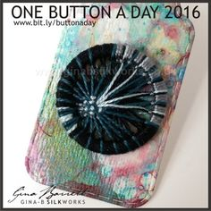 Day 62: Meteor #onebuttonaday by Gina Barrett