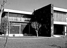 Casa Eric Koenig, Lomas de Chapultepec, México DF 1951    Arq. Manuel Rosen Morrison