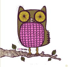 Love this! the eyes are similar to what I made to an owl-postcard of mine, very intense ;)