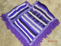 Vibrant shades of purple with eyelash trim Shades Of Purple, Eyelashes, Knitted Hats, Vibrant, Knitting, Crochet, Fashion, Ponchos, Lashes