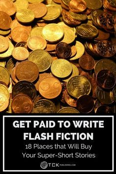 Do you write super-short stories? Submit to one of these great journals to get paid for your creative writing.