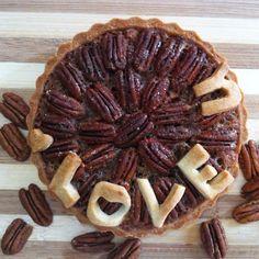 Pecan coffee pie