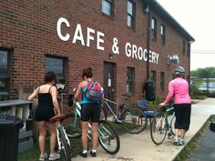 Bike friendly businesses are getting more popular and you'll find a lot along the Swamp Rabbit trail in Greenville. It's an easy ride from Furman!