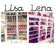 Lisa or Lena? Subject: GIANT Shoe Wardrobe! :P My Choice: Lisa