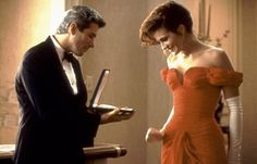 Pretty Woman. Such a classic chick flick. I'm not going to lie: despite some of the . . . sketchy undertones . . . I love the optimism of this romance. Two people's lives were changed (somehow). It's definitely worth a watch, I think.