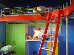 i love this double loft ides