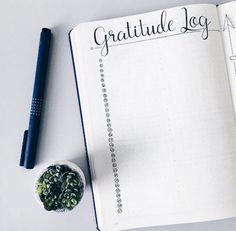 Criar página de Gratidão e de Sonhos e Metas