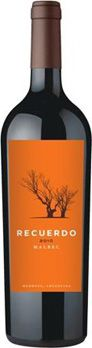 Recuerdo Malbec of Argentinian Wine.