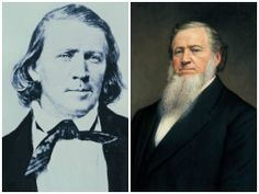 Brigham Young: 2nd President of the #LDS Church. Led the pioneers to the Salt Lake Valley, founded Brigham Young University (BYU). #LDS #prophet #ProphetADay