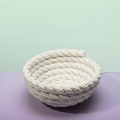 Coil Rope Bowl White, £36.45, now featured on Fab.