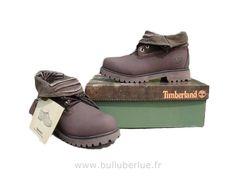 Bottes Timberland Roll Top brun Bottes Soldes femme
