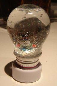 lightbulb crafts | Light Bulb Crafts