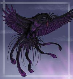black phoenix by Tacimur
