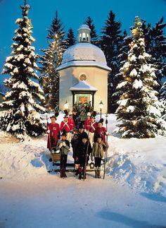 Silent Night Chapel, Concert de Nadal, Salzburg- Austria