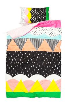 Double Quilt Cover, MULTICOLOUR DREAMS