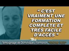 Formation Commerciale Vendre Plus - Témoignage de Dominique !