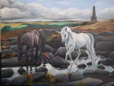Original Art, Horses, Painting, Animals, Animales, Animaux, Painting Art, Paintings, Animal