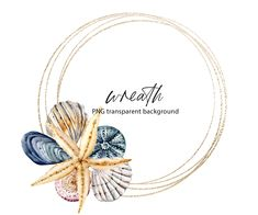 Watercolor Flower Wreath, Watercolor Painting, Beach Clipart, Free Advertising, Frame Wreath, Print Templates, Party Invitations, Greeting Cards, Clip Art