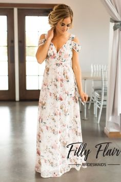 Madison Bridesmaid Dress in Floral