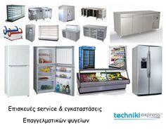 Επισκευές service εγκαταστάσεις επαγγελματικών ψυγείων. (πατήστε το link κάτω  από την εικόνα) Για περισσότερες πληροφορίες:  Τηλ.Επικοινωνίας: 211 40 12 153  Site: www.techniki-express.gr  Email: info@techniki-express.gr