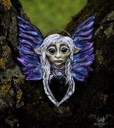 This necklace was inspired by the Dark Crystal: Age of Resistance series and features the lovely Deet! She is completely handmade, find her in my shop in the link at the top. Jewelry Shop, Handmade Jewelry, Jewelry Making, The Dark Crystal, Polymer Clay Art, Crystal Jewelry, Pagan, Lion Sculpture, Fantasy