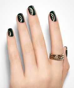 Golden Rule Nail Art